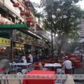 Toàn cảnh Jalan Alor, đường phố ẩm thực gần Bukit Bintang ở Kuala Lumpur