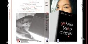 """Bìa """"99 tuần buôn chuyện"""" do Trần Thu Trang thiết kế."""